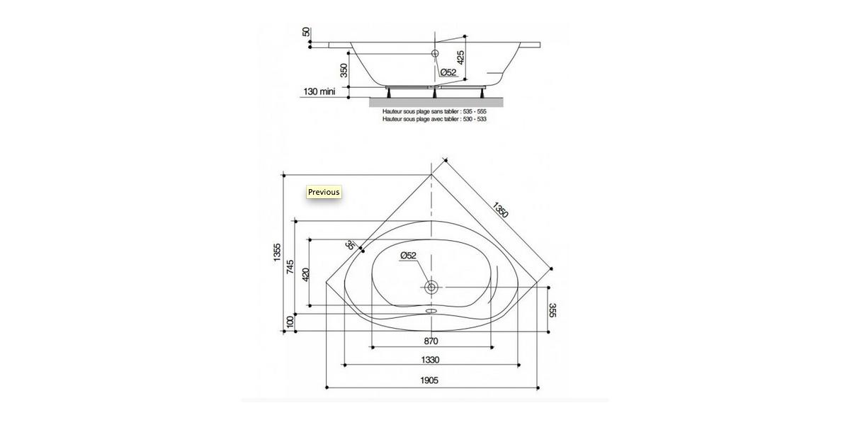 balneo angle trendy baignoire balno angle hypnose cm with. Black Bedroom Furniture Sets. Home Design Ideas