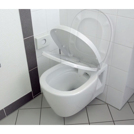 Cuvette suspendue WC Connect sans bride