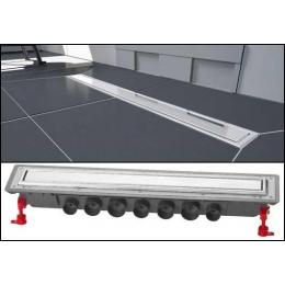 Caniveau Venisio Expert 800 mm avec grille réversible