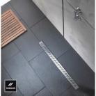 Caniveau Venisio 900 mm avec grille Inox