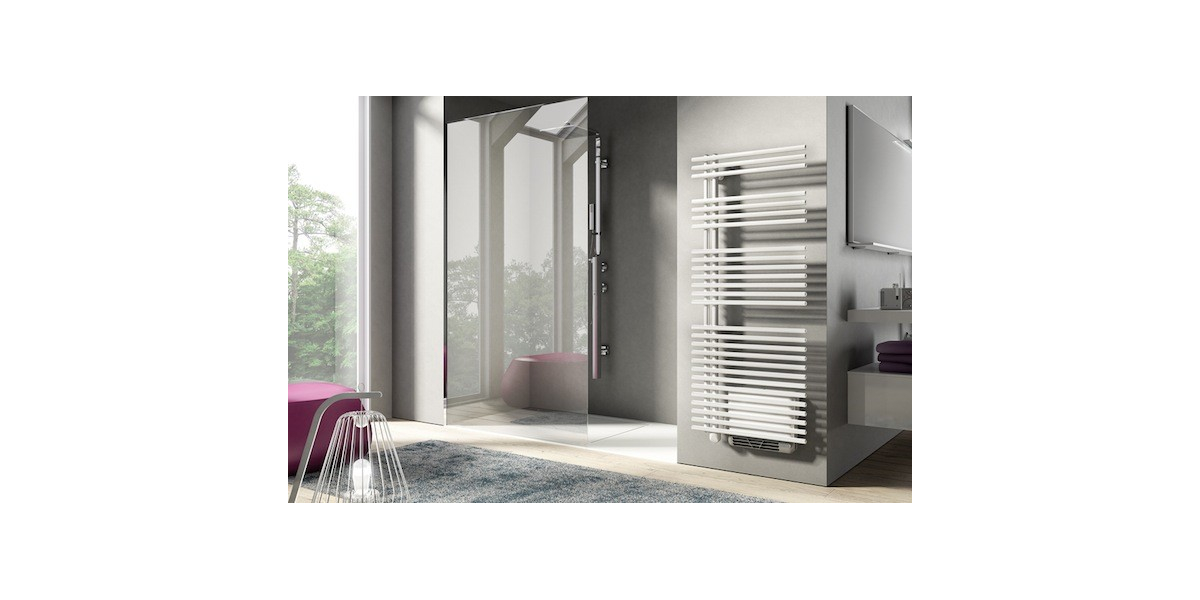 radiateur s che serviettes gauche funky electrique avec booster. Black Bedroom Furniture Sets. Home Design Ideas