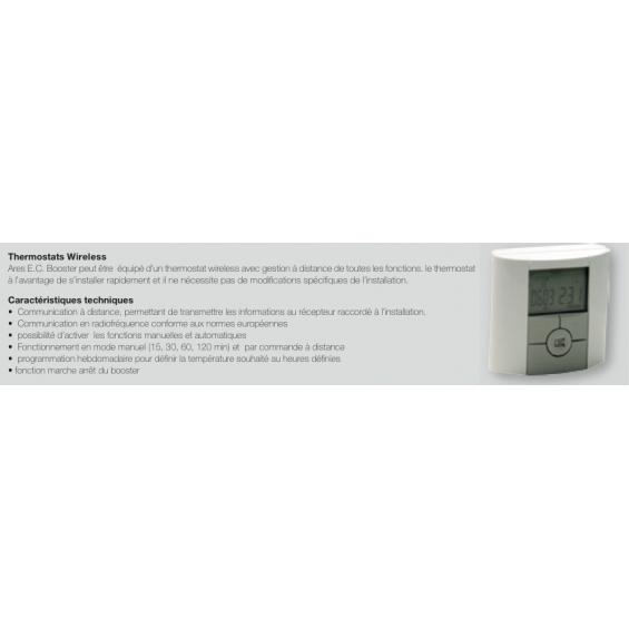 Radiateur Sèche-serviettes ARES eau chaude / soufflerie booster