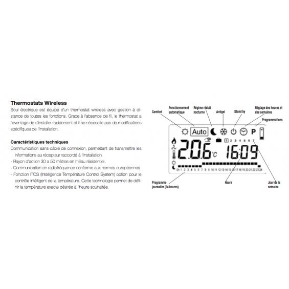 Radiateur Sèche-serviettes Soul électrique