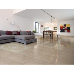 Carrelage sol Brillante almond 33,3*33,3 cm