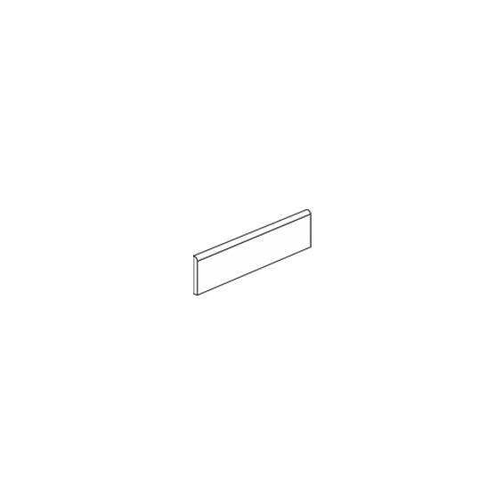 Plinthe minéral 7,5*30 cm / Tous coloris