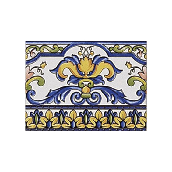 Cenefa Primavera Iris 15*20 cm
