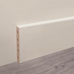 Découvrir Plinthe bois blanc 8*240 cm