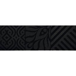 Découvrir Décor Vita Black ( 2 pièces) 20*60 cm