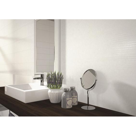 Vita white texture 20x60 cm