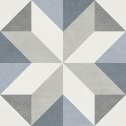 Carrelage sol effet carreaux de ciment Montmartre gina 15*15 cm