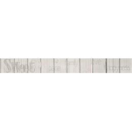 Découvrir Frise Graphiti Gris 4,6*40 cm
