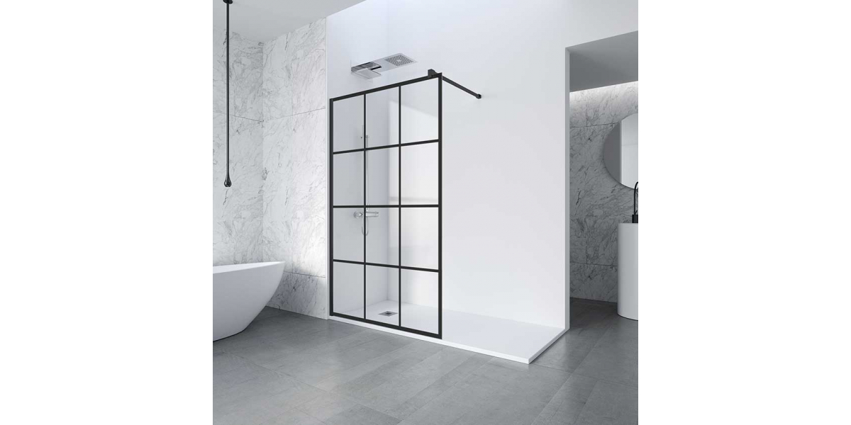 le r tro atelier paroi de douche verriere. Black Bedroom Furniture Sets. Home Design Ideas