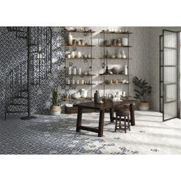 Carrelage sol effet carreaux de ciment Grant Géraldine 15*15 cm