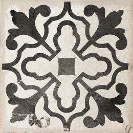 Carrelage sol effet carreaux de ciment Bayou villena black 15*15 cm