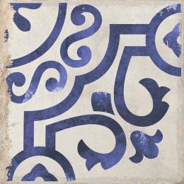 Carrelage sol effet carreaux de ciment Bayou rancho blue 15*15 cm