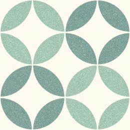 Carrelage sol effet carreaux de ciment Athènes nice green 25*25