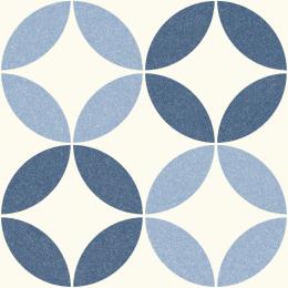 Carrelage sol effet carreaux de ciment Athènes nice blue 25*25