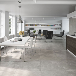 Carrelage sol effet béton Design pearl 60*60 cm