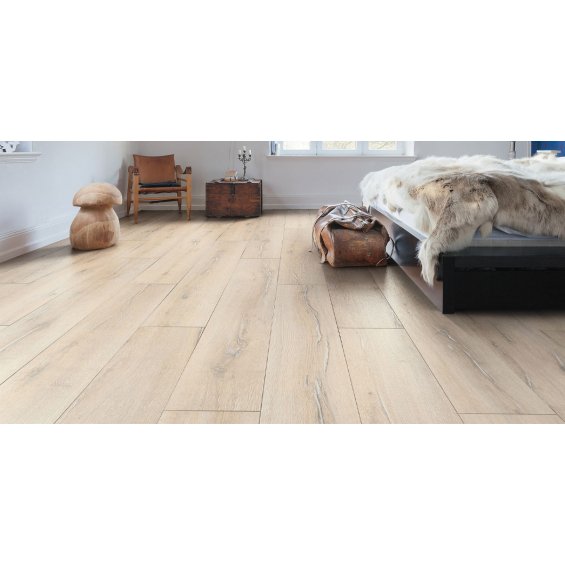 Ecorce planche large chêne scandinave 19,3*128,2 cm