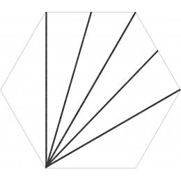Découvrir khéops blanco 25*25 cm