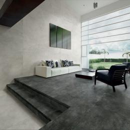 Carrelage fin sol et mur Grestone antracite 80*80 cm