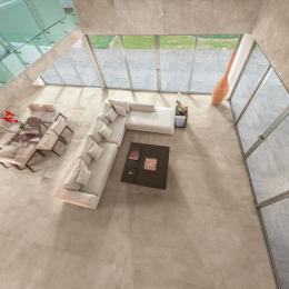Carrelage fin sol et mur Grestone beige 80*80 cm