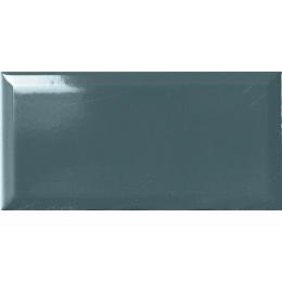 Carrelage mur Métro bleue 10*20 biseauté