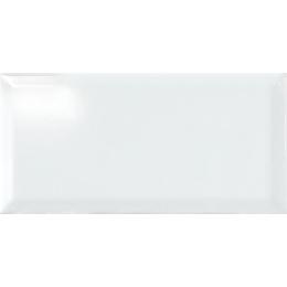 Carrelage mur Métro blanc 7,5*15 biseauté