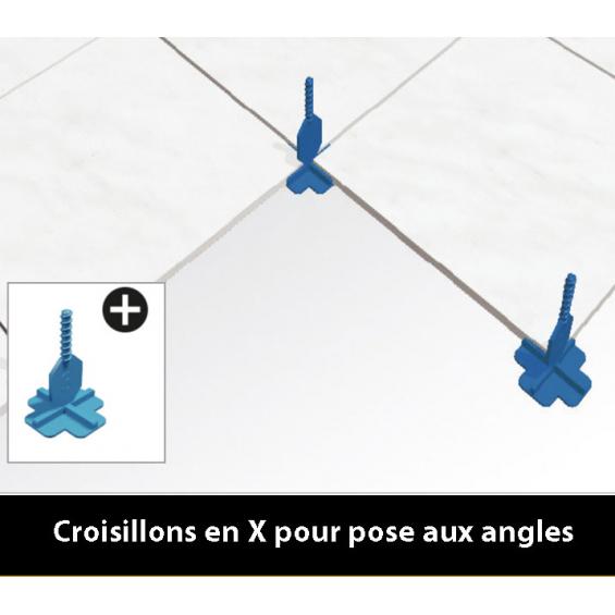 Croisillons 3 mm autonivelant Pavilift.