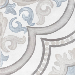 Découvrir Thales daiza white 20*20 cm