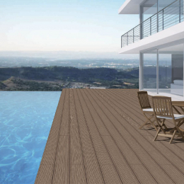 Carrelage sol extérieur effet bois Madera Noce R11 20*120 cm