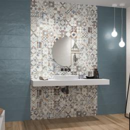 Carrelage mur Colors decor blue 25*75