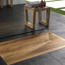 Receveur Wood extraplat