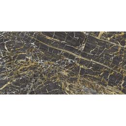 Carrelage sol poli effet marbre Black gold 60*120 cm