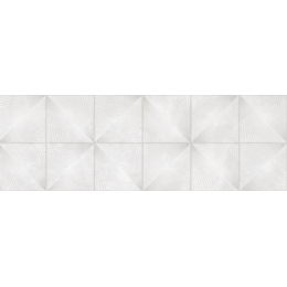 Carrelage mur Décor Carat Rombo White 20*60 cm