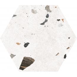 Découvrir Marmo granito white hexagonal 22*25 cm