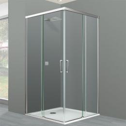 Découvrir Portes de douche d'angle coulissante Tarifa