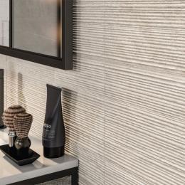 Carrelage sol et mur Onyx groove sand 60*120 cm
