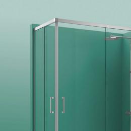 Portes de douche angle 2 portes coulissante Cosmos