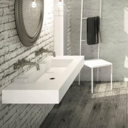 Découvrir Vasque simple Atenea cuve XXL centrée