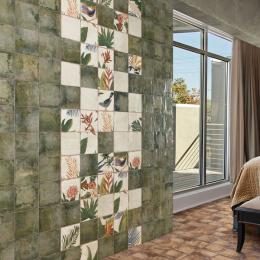 Carrelage sol et mur Belleville green 20*20 cm