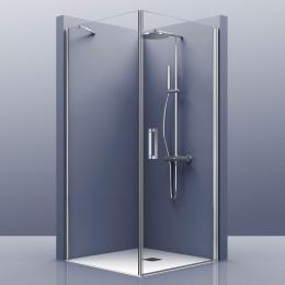 Découvrir Portes de douche d'angle pivotante Azur