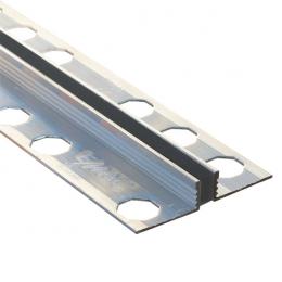 Joints de dilatation en aluminium et PVC Slimm