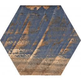 Carrelage sol hexagonal Lublin mix 22*25 cm