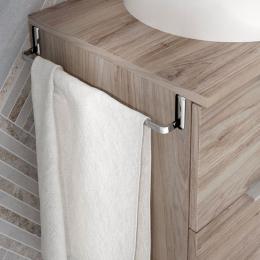 Porte serviette universel pour meubles salle de bain