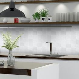 Carrelage mur effet zellige mix blanco 10*10 cm