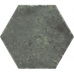 Carrelage sol et mur hexagonal Jungle esmeralda 23*27 cm