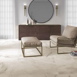 Carrelage sol poli effet marbre Cyclades beige 30*60 cm