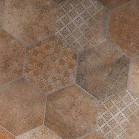 Tomette / Hexagonal